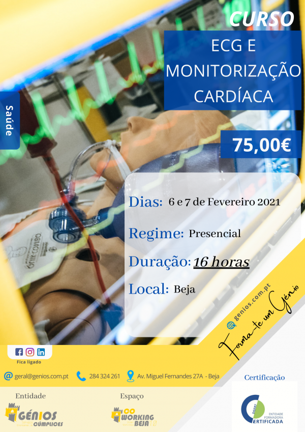 ECG e Monitorização Cardíaca