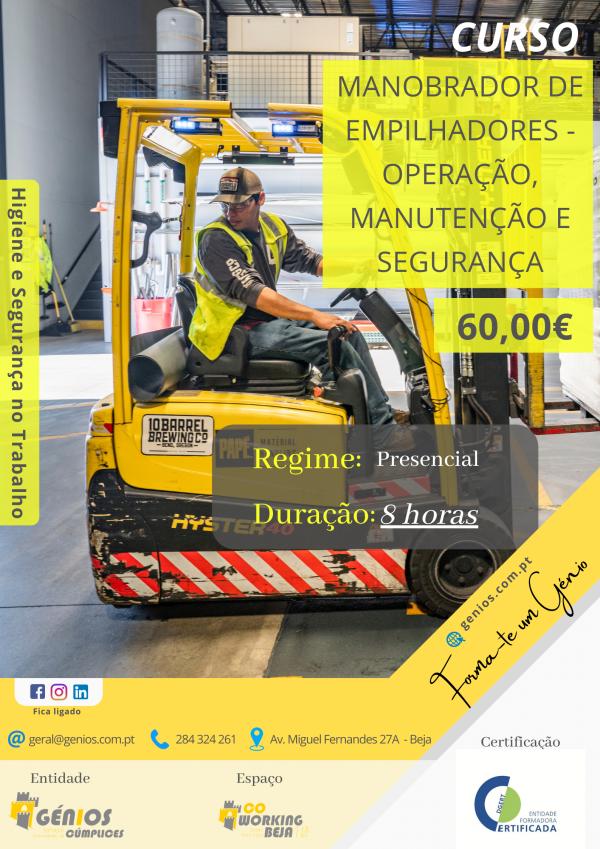 Manobrador de Empilhadores – Operação, Manutenção e Segurança